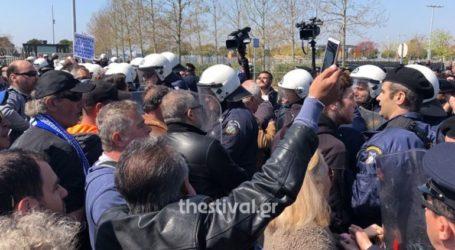 Ένταση μετά την παρέλαση στη Θεσσαλονίκη