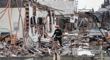 Στους 78 ανήλθε ο αριθμός των νεκρών από την έκρηξη σε χημικό εργοστάσιο