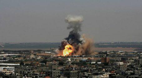 Αεροπορικά πλήγματα του Ισραήλ εναντίον της Γάζας μετά τη ρίψη ρουκέτας