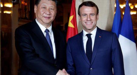 Ο Εμανουέλ Μακρόν ζήτησε από τον Σι Τζινπίνγκ να σεβασθεί την ενότητα της Ευρωπαϊκής Ενωσης