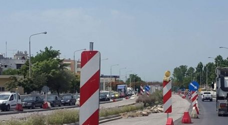 Εργασίες συντήρησης στην Περιφερειακή Οδό Θεσσαλονίκης