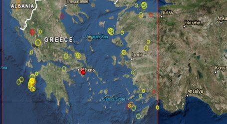 Σεισμός 2,5R στην Αττική