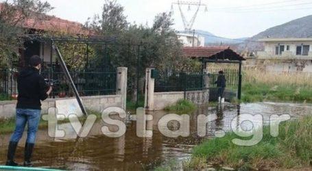 Πλημμυρισμένοι εδώ και τρεις μήνες οικισμοί στη Χαλκίδα