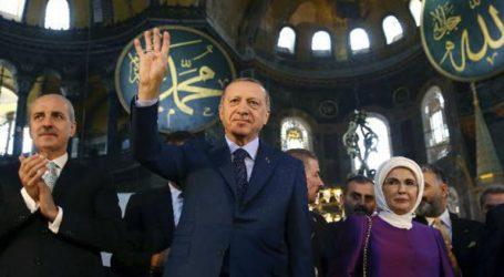Μετατροπή της Αγια-Σοφιάς σε τζαμί, τα«αντίποινα» του Ερντογάν για τα Υψίπεδα του Γκολάν