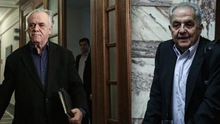 Θετικοί σε ρύθμιση για επιβράβευση συνεπών δανειοληπτών δήλωσαν ο Γ. Δραγασάκης και ο Αλ. Φλαμπουράρης