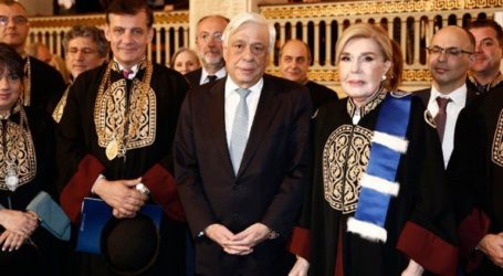 Επίτιμη διδάκτορας της Ιατρικής του πανεπιστημίου Αθηνών αναγορεύτηκε η Μαριάννα Βαρδινογιάννη
