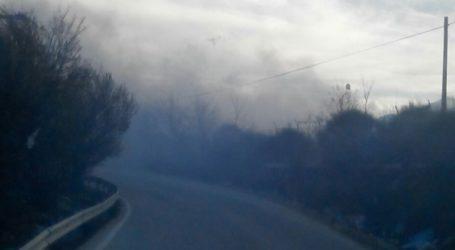 Πυρκαγιά στον ΧΥΤΑ Ελληνικού στα Ιωάννινα