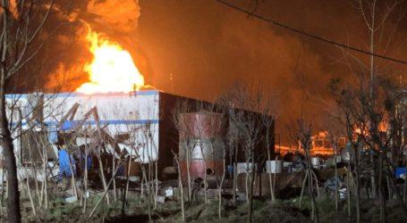 Πέντε νεκροί από την έκρηξη αερίου σε εργοστάσιο