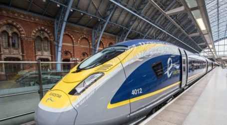 Η εταιρεία Eurostar αναστέλλει τα δρομολόγια των τρένων της από και προς τη Βρετανία