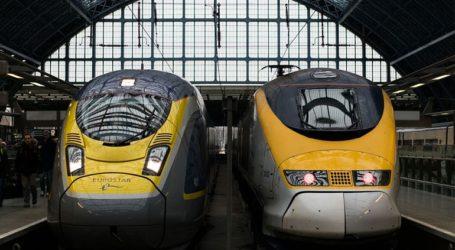 Eπαναλαμβάνονται τα δρομολόγια τρένων της Eurostar από και προς τη Βρετανία