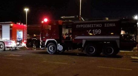 Έκρηξη σε διαμέρισμα στην οδό Αμισού στη Λαμπρινή