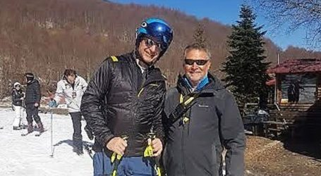 Για σκι στα 3-5 Πηγάδια ο Κυριάκος Μητσοτάκης