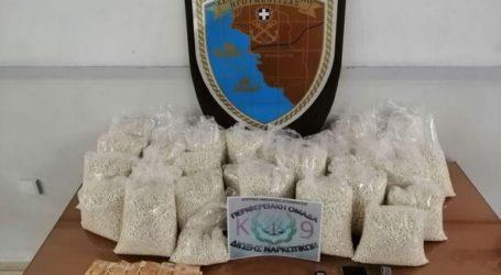 Χιλιάδες χάπια Captagon εντοπίστηκαν σε αυτοκίνητο στην Ηγουμενίτσα