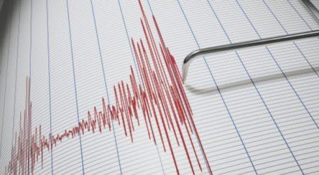Σεισμός βορειοανατολικά του Βόλου [χάρτης]