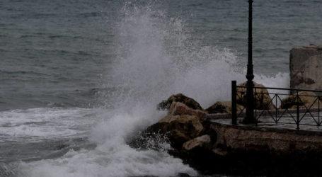 Για επιδείνωση του καιρού στη Μαγνησία προειδοποιεί το Λιμεναρχείο Βόλου
