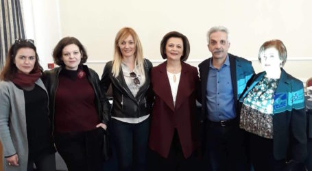 Η Μαρίνα Χρυσοβελώνη στην Ημερίδα με θέμα «Η γυναίκα στη Δημόσια σφαίρα»