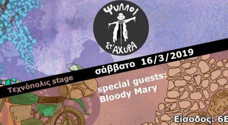 Ψύλλοι στ' άχυρα live με guest τους Bloody Mary στο Τεχνόπολις stage