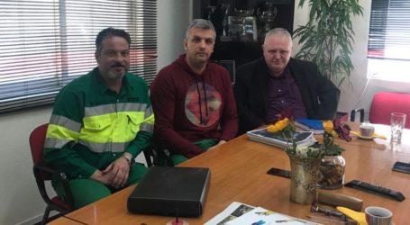 Επίσκεψη του Ν.Χαυτούρα στην ΑΓΕΤ με συγκινησιακή φόρτιση