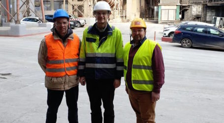 Στην ΑΓΕΤ εκπρόσωποι του Συνδέσμου Εργοδηγών Εργοληπτών Ηλεκτρολόγων και Συντηρητών Καυστήρων Μαγνησίας