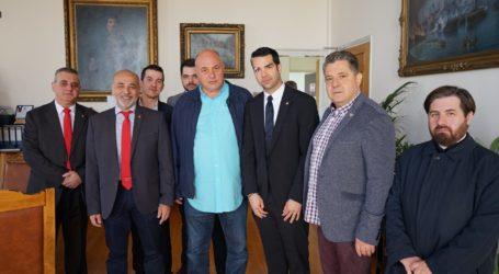 Τον δήμαρχο Βόλου επισκέφθηκε το Δ.Σ. των ΑΧΕΠΑ