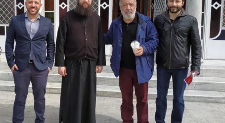 Προεκλογική βόλτα Μεϊκόπουλου – Αποστολάκη