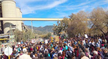 Στην ΑΓΕΤ κατέληξε η πορεία ενάντια στην καύση RDF [εικόνες]