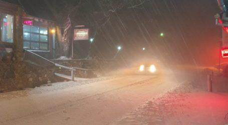 Χιόνισε στο Πήλιο – Απότομη πτώση της θερμοκρασίας [εικόνα]