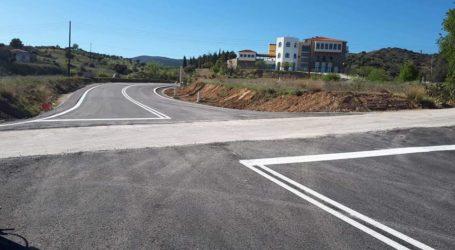 Ασφαλτοστρώθηκε ο δρόμος προς το Συνεδριακό Κέντρο της Μητρόπολης στα Μελισσάτικα [εικόνες]