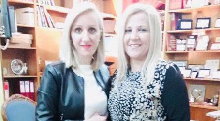 Την Δωροθ. Κολυνδρίνη συνάντησε η Έλενα Ράπτη