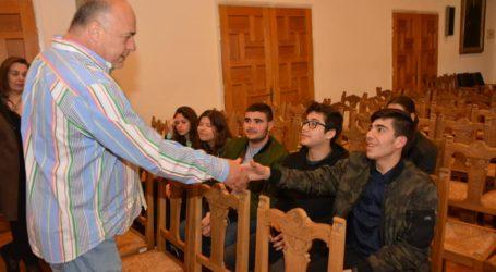 Μαθητές από την Πάφο στο δημαρχείο Βόλου