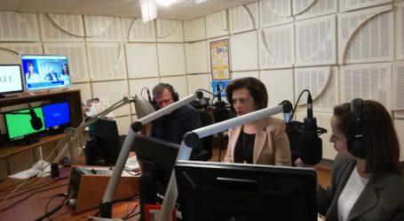 Συνέντευξη της Μαρίνας Χρυσοβελώνη στο Πρώτο Πρόγραμμα της ΕΡΑ
