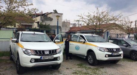 Δύο νέα ημιφορτηγά ενισχύουν τον στόλο της ΔΕΥΑΜΒ [εικόνες]