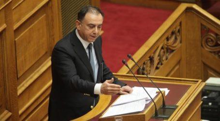 Κέλλας: «Υγεία και Παιδεία με σεβασμό στον Έλληνα φορολογούμενο»