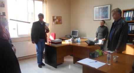 To Δημαρχείο Ν. Ιωνίας επισκέφθηκε ο Απόστολος Ριζόπουλος