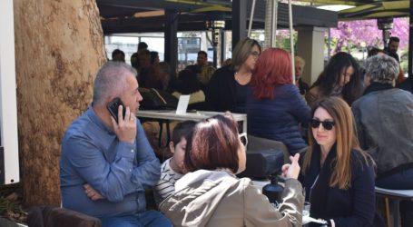 Σφύζει από ζωή το κέντρο της Λάρισας το Σάββατο – Δείτε φωτορεπορτάζ