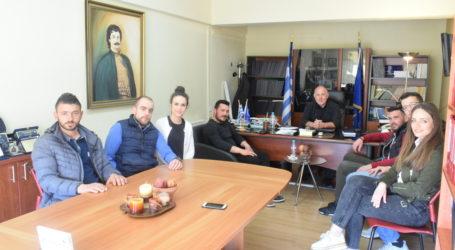 Εθιμοτυπική επίσκεψη Συλλόγου Περιβολιωτών στον Δήμαρχο Ρήγα Φεραίου