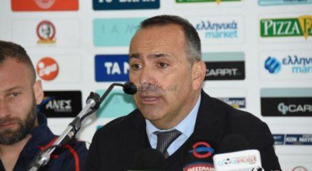 Π. Αμανατίδης: Το κίνητρο του πρωταθλητισμού ζυγίζει περισσότερο…