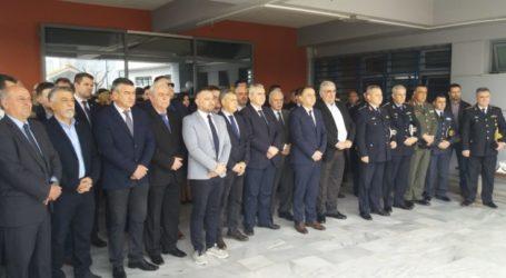 Πραγματοποιήθηκε το μνημόσυνο υπέρ πεσόντων αστυνομικών στη Λάρισα