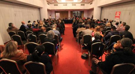 Μάθημα ζωής από τον Στέλιο Κυμπουρόπουλο στον Βόλο [εικόνες]