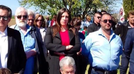 Στο Κιλελέρ η Ζωή Κωνσταντοπούλου με στελέχη της Πλεύσης Ελευθερίας