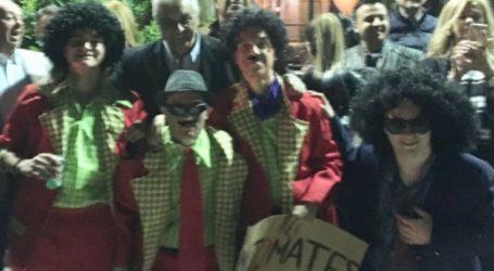 Στο Καλοχώρι ο Κώστας Κολλάτος για τις καρναβαλικές εκδηλώσεις του χωριού