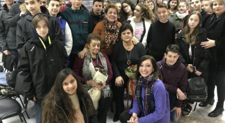 Γνωρίζοντας τις συνέπειες του πολέμου και του ρατσισμού – Ενημέρωση μαθητών του 9ου Γυμνασίου Λάρισας