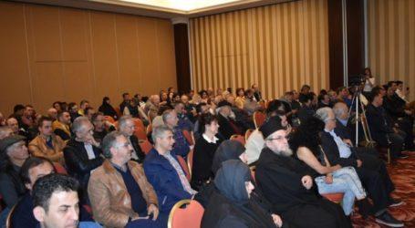 Συγκίνηση σε εκδήλωση για τον Κωνσταντίνο Κατσίφα που πραγματοποιήθηκε στη Λάρισα – Τι είπε η αδελφή του