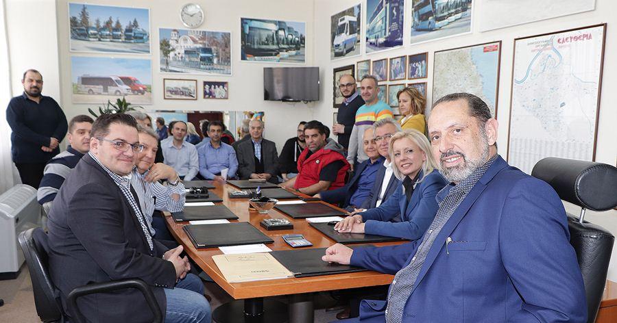 """Καραλαριώτου:""""Κομβικής σημασίας η συνεργασία με το Υπεραστικό ΚΤΕΛ Λάρισας"""""""