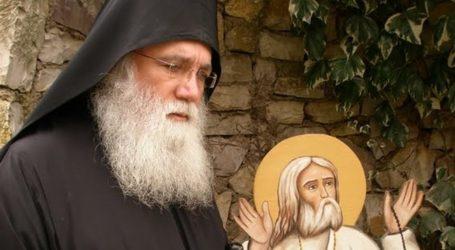 Στον Βόλο η Ιερά Εικόνα της Παναγίας Έλωνας – Ομιλία του Γέροντος Νεκταρίου Μουλατσιώτη