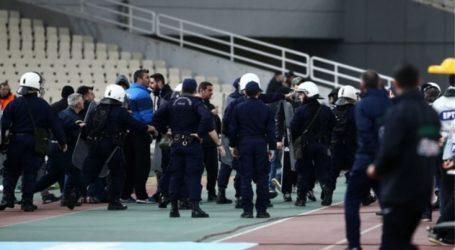 Ολυμπιακός: «Είχαν μαχαίρι οι οπαδοί που έκαναν ντου»