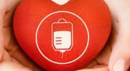 Εθελοντική αιμοδοσία στον Βόλο από την Ένωση Λειτουργών Γραφείων Κηδειών