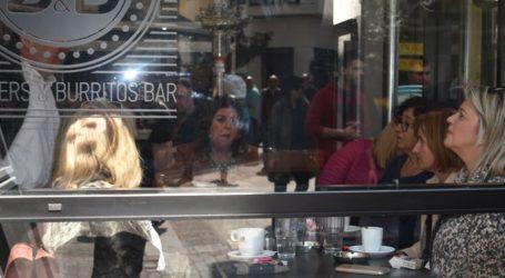 Ηλιόλουστο Σάββατο στα καφέ της Λάρισας – Δείτε πλούσιο φωτορεπορτάζ