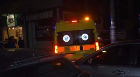 Τροχαίο με μηχανή τα ξημερώματα στη Λάρισα – Νεαρός στο ΠΓΝΛ σε σοβαρή κατάσταση