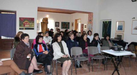 Με ενδιαφέρον παρακολούθησαν οι γυναίκες των Γόννων την εκδήλωση για την πρόληψη του καρκίνου